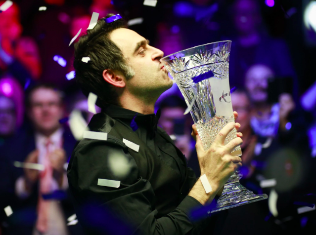 Ronnie O'Sullivan (title). Credit: Getty Images
