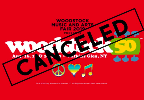 Woodstock Music and Arts Fair 2019 cancelled. Credit: TMZ