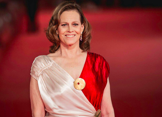 Sigourney Weaver at Rome Film Fest on 24 October 2018. Credit: Vittorio Zunino Celotto/Getty Images Europe