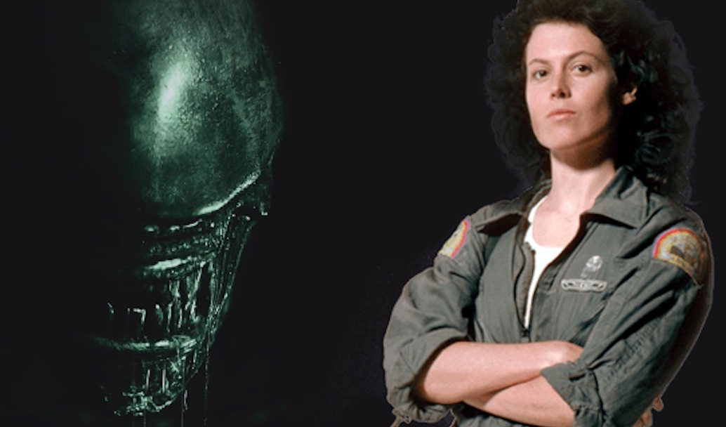 Sigourney Weaver as Ellen Ripley in Alien. Credit: Katherine Waterston/Alien Covenant
