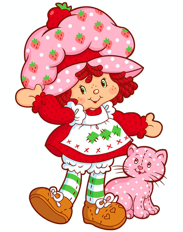 The World of Strawberry Shortcake. Credit: Swenson, Muller and Fred Wolf