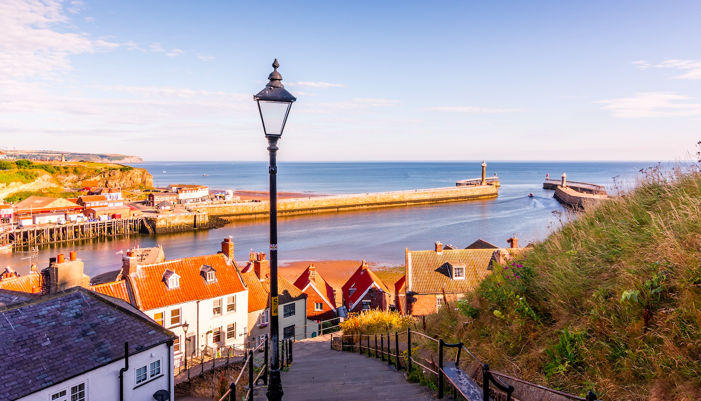 Whitby, North Yorkshire, England. Credit: Tim Hill