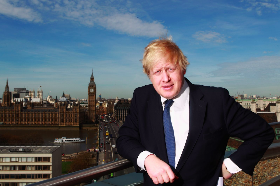 Boris Johnson poses for a photo in London, April 2011. Credit: Dean Mouhtaropoulos/Getty Images