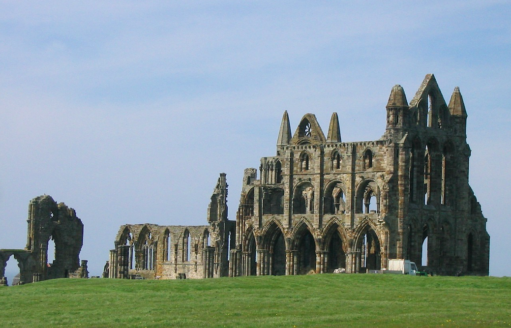 Ruins of Whitby Abbey, Yorkshire