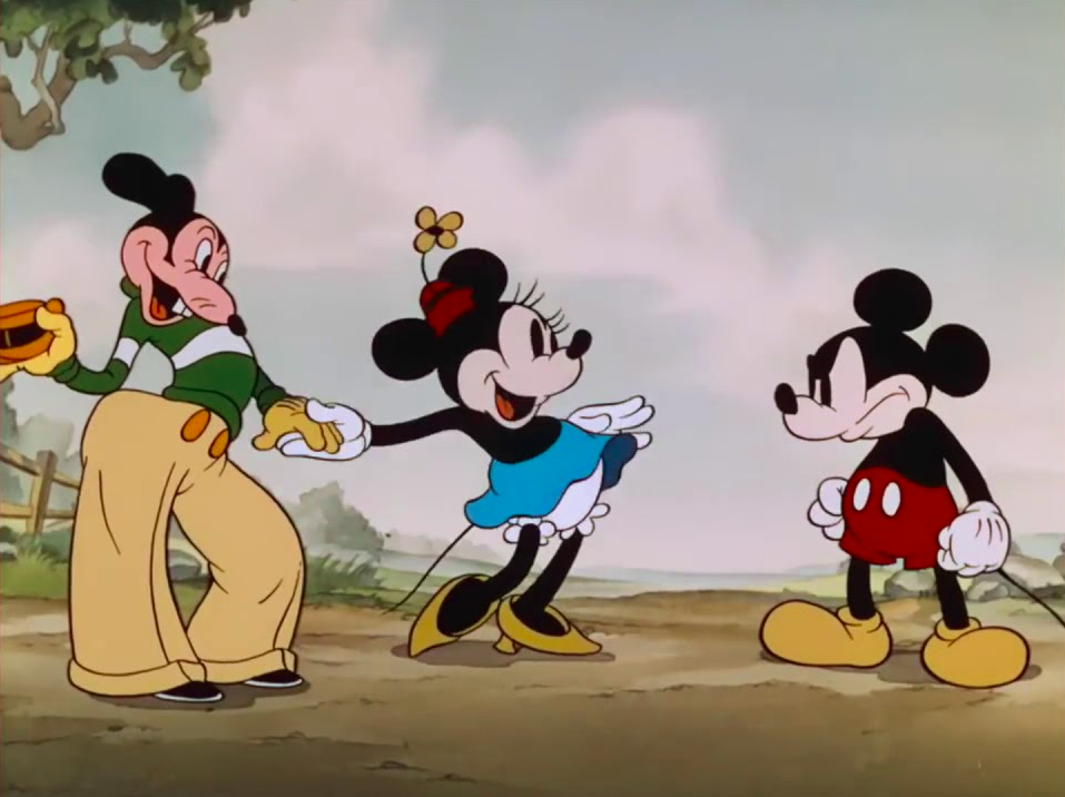 Mortimer Mouse, Minnie, and Mickey. Credit: Disney Channel