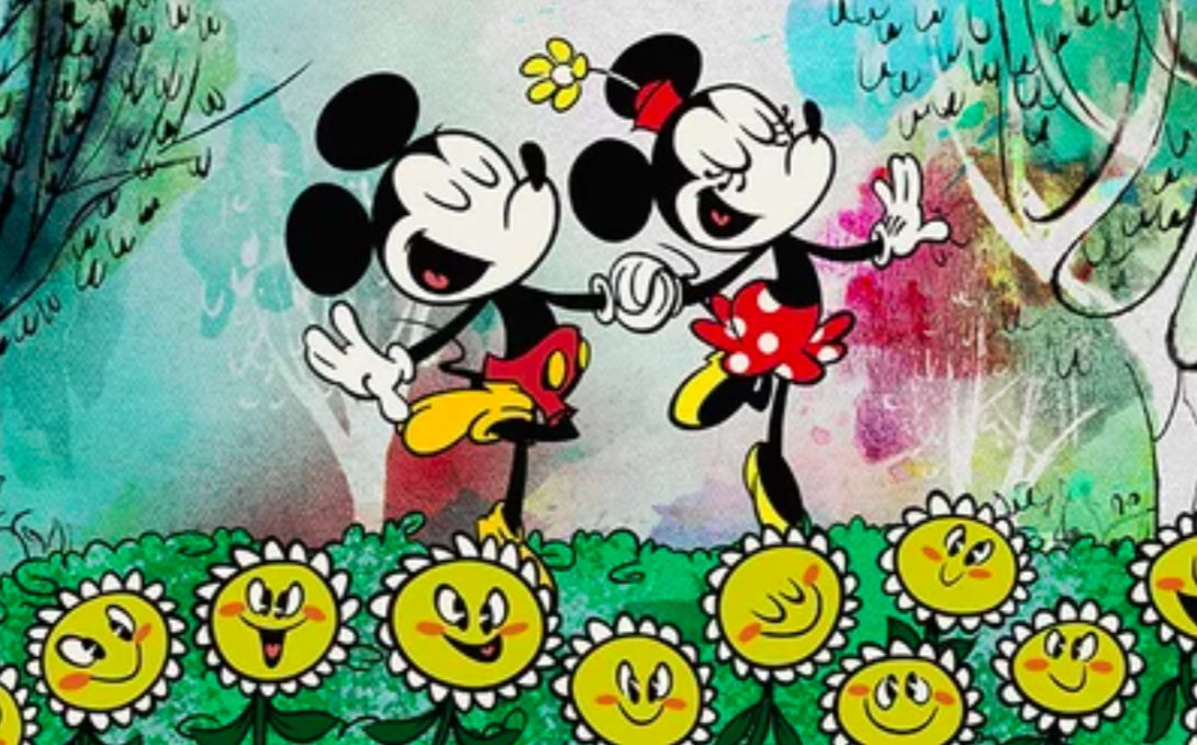 Mickey and Minnie. Credit: Disney Channel
